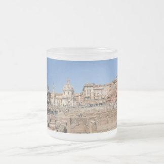 Oude stad van Rome, Italië Matglas Koffiemok