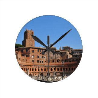 Oude stad van Rome, Italië Ronde Klok