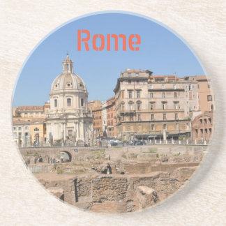 Oude stad van Rome, Italië Zandsteen Onderzetter