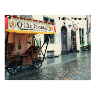 Oude Talllin, Estland Briefkaart