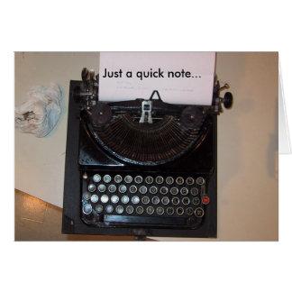 Oude Tekstverwerker Briefkaarten 0
