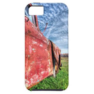 Oude Verlaten rode Vrachtwagen Chevy Tough iPhone 5 Hoesje