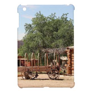 Oude wagen, pioniersdorp, Utah iPad Mini Hoesjes