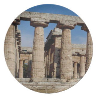 oude wereldtorens melamine+bord
