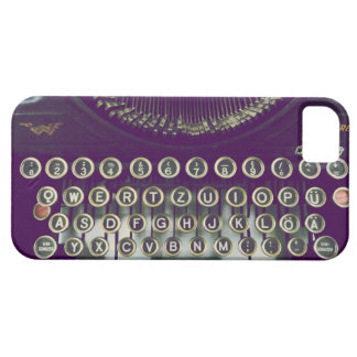 ouderwetse schrijfmachine barely there iPhone 5 hoesje