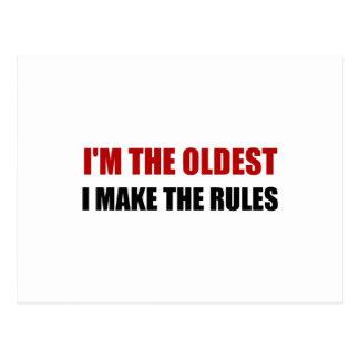 Oudst maak de Regels Briefkaart