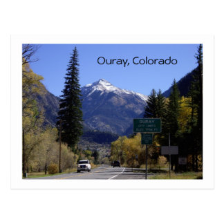 Ouray, Colorado Briefkaart
