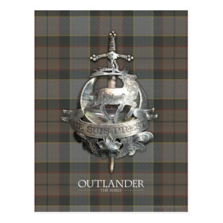Outlander | de Broche Fraser Briefkaart