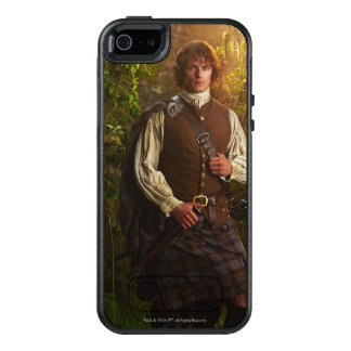 Outlander | Jamie Fraser - in Bos OtterBox iPhone 5/5s/SE Hoesje