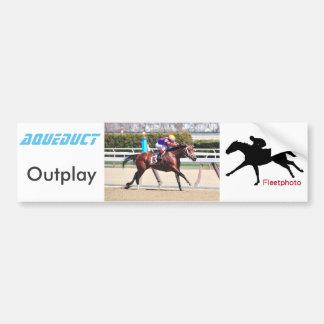 Outplay Bumpersticker