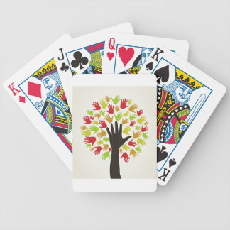 Overhandig een tree2 pak kaarten