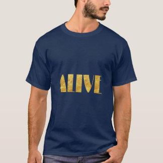Overhemd dat Levend zegt T Shirt