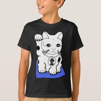 Overhemd het Japanse van Maneki Neko (Gelukkige T Shirt