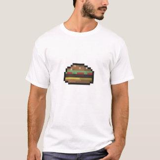overhemd het met 8 bits van de Hamburger T Shirt