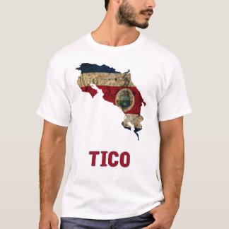 """Overhemd het van Costa Rica """"Tico"""" T Shirt"""