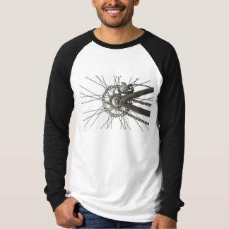 Overhemd met het AchterWiel van de Fiets T Shirt