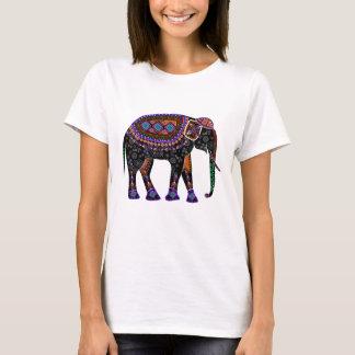 Overhemd met zwarte Olifant T Shirt