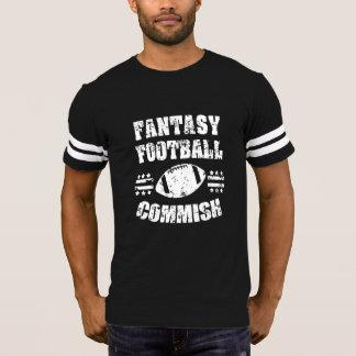 Overhemd van Commish van het Football van de T Shirts