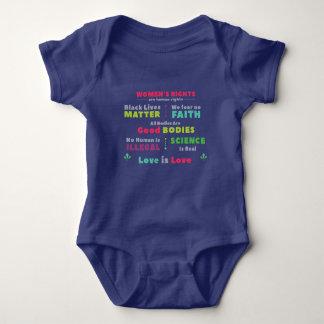 Overhemd van de Bodem van het Baby van de Romper