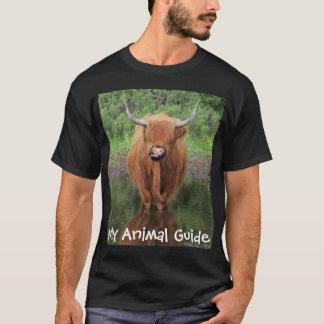 Overhemd van de de koe het dierlijke gids van het t shirt