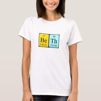 Overhemd van de de lijstnaam van Beth het T Shirt