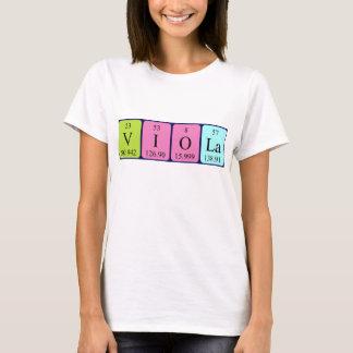 Overhemd van de de lijstnaam van de altviool het t shirt