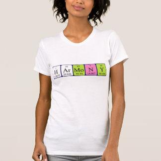 Overhemd van de de lijstnaam van de harmonie het t shirt