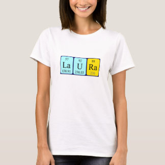 Overhemd van de de lijstnaam van Laura het T Shirt