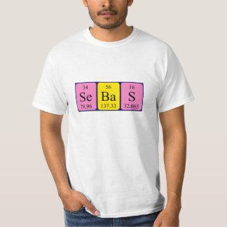 Overhemd van de de lijstnaam van Sebas het T Shirt