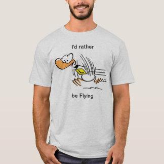 Overhemd van de Eend van Ding het Grappige T Shirt