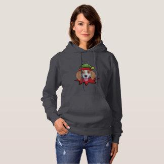 Overhemd van de Gift van Kerstmis van het Elf van Hoodie