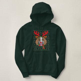 Overhemd van de Gift van Kerstmis van het Rendier Hoodie
