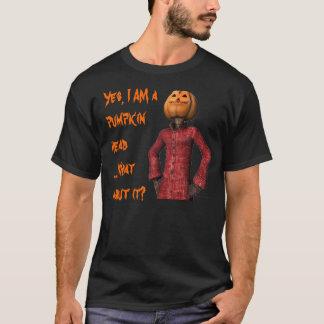 Overhemd van de Houding van de pompoen het Hoofd T Shirt