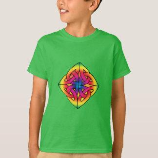 Overhemd van de Knoop van de Diamant van het T Shirt