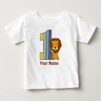 Overhemd van de Leeuw van de Verjaardag van het Baby T Shirts