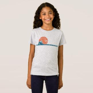 Overhemd van de Meisjes van de Stijl van het T Shirt