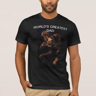 Overhemd van de Papa van de Wereld van Goya het T Shirt