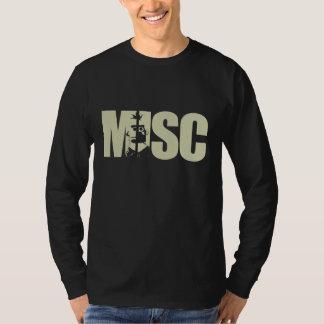 Overhemd van de Tekst van Misc het Gouden - T Shirt