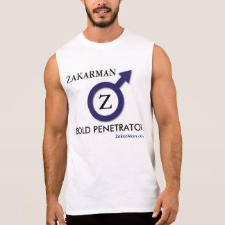 Overhemd van de Training van ZakarMan Sleeveless T Shirt