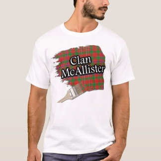 Overhemd van de Verf van het Geruite Schotse T Shirt