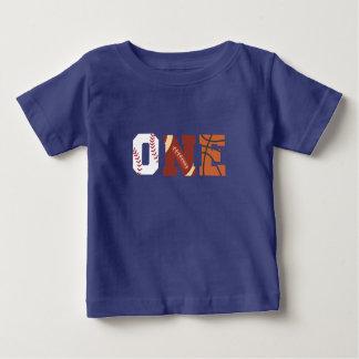 Overhemd van de Verjaardag van All Star het Eerste Baby T Shirts