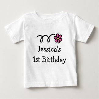 Overhemd | van de Verjaardag van Babys 1st Baby T Shirts