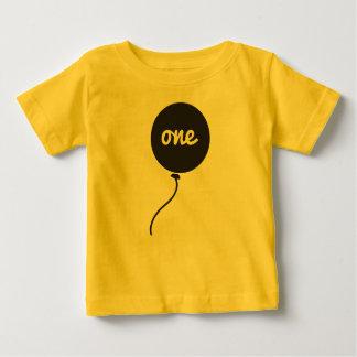 Overhemd van de Verjaardag van de baby het Eerste Baby T Shirts