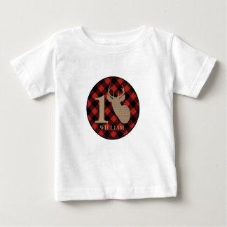 Overhemd van de Verjaardag van de Herten van de Baby T Shirts