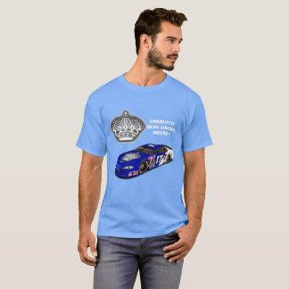 Overhemd van de Voeringen van Charlotte het Blauwe T Shirt