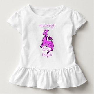 Overhemd van het Baby van de Draak van de brij Kinder Shirts