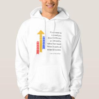 Overhemd van het Citaat van de weg naar het succes Hoodie