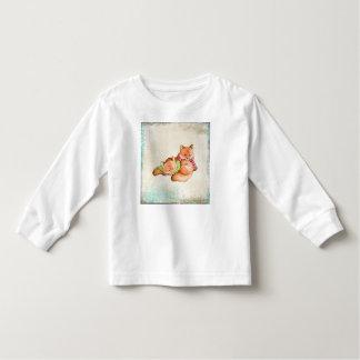 Overhemd van het het kind het lange sleeve van de kinder shirts