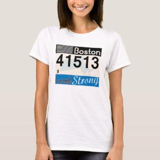 Overhemd van het Label van Boston het Sterke T Shirt
