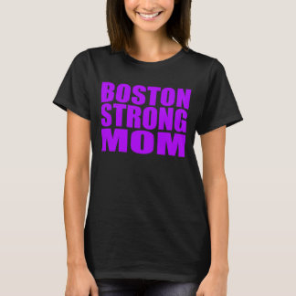 Overhemd van het Mamma van Paars Boston van het T Shirt